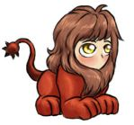 Tiny Manticore Loves You by alyssafew