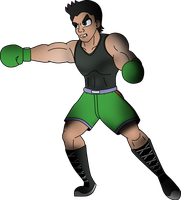 FSF 2014 Collab - Little Mac by MrPr1993