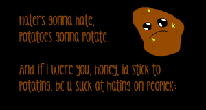 Haters Gonna Hate - Wallpaper by AnimeExtremist