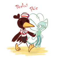 Perfect Pair(GallEnti) by Wonder-Waffle