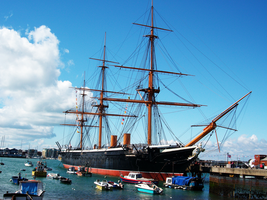 HMS Warrior by Mr-Xvious