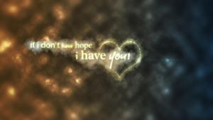 You are my hope Wallpaper by aleexdee