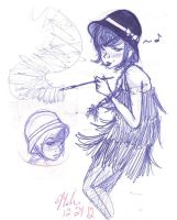 flappers by MissShell666