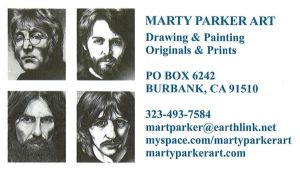 Marty Parker Art by JRigh