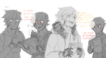 Brodiac: Upcoming comic reactions idk by SPINNY-chair-HERO