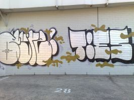 Ayre...Ties by PerthGraffScene