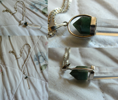 Green Crystal Pendant by DOC-Ash1391