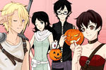 Ouran Halloween by 18skorpina