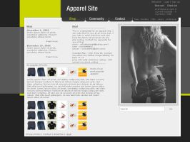 Apparel template by ampedCT