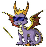 Spyro Awesomeness by QueenJulien