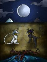 The Moon by hypernosis