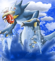 Golduck by Phatmon66