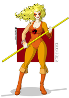 Coloring Commission - Bokuman - SJD83 - Cheetara by StarDragon77