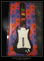 Cake: Guitar Hero Controller by simonsaz3