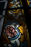 Of Stained Glass and Flowers by WynterWonderer