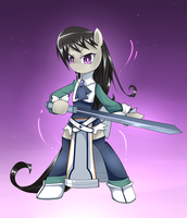 Magic Knight Tavi by CyanAeolin