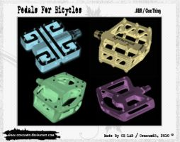 Pedals For BMX Brushes .ABR by conzumir