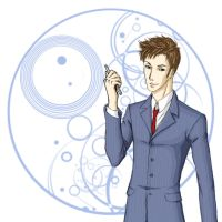 Tenth Doctor by Aerlin