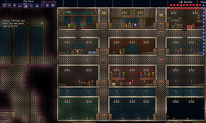 Terraria Fort 1 by Xergrim