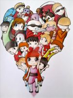 Cartoon Network fan art by MangaThePanda