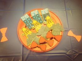 Doctor Who cookies by BunnyRue