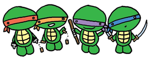 Cute TMNT by dragonfly3007