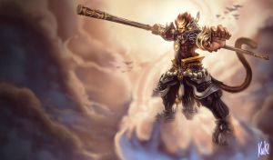 LoL - General Wukong by Knockwurst