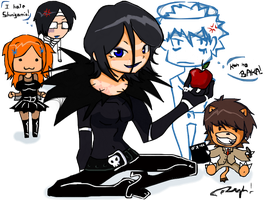 Bleach Death Note version by RyhMozillaFirefox