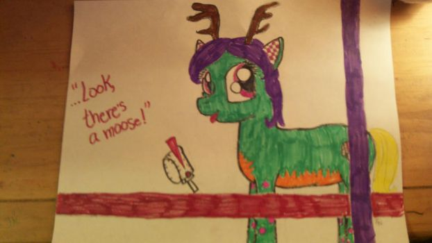 Look, there's a moose! by PrincessCadance