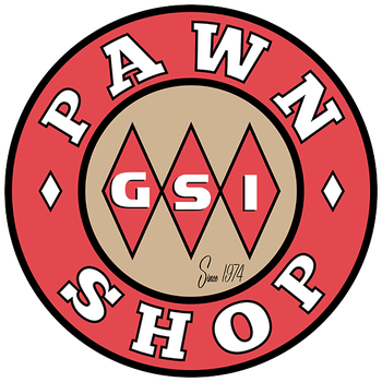 Retro GSI Pawn Shop Sign by 66Robert