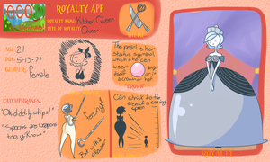 AoO Royalty App: Kitchen Queen by xBumblebee96x