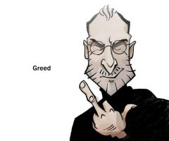 Steve Jobs by WonderDookie