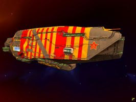 Chinese Army Vaygr Flagship by Roflbot