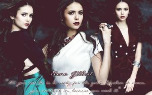 Elena Gilbert - Quote. by Dark-Flame-Babee