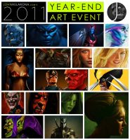 2011 Year-End Art Event by PhotoshopIsMyKung-Fu