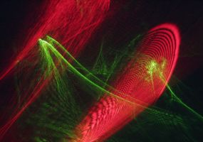 laser interference patterns by reciii