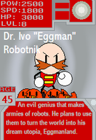 SoniCards: Eggman by Metallemmy