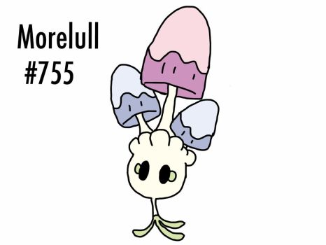 Pokemon #755 - Morelull by Getini