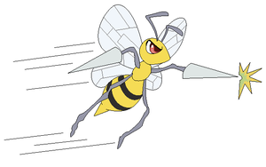 Beedrill used Poison Jab by Kainaa