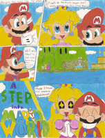 A Step into Mario World pg 1 by metaEAT