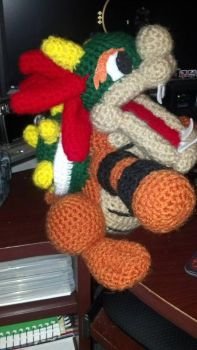 Bowser by CrochetCritters