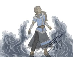 Grown Katara by Nativa-Basco