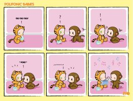 Comic Strip Polifonic Babies 2 by momo81