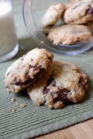 Nutella Stuffed Chocolate Chunk Cookies by claremanson
