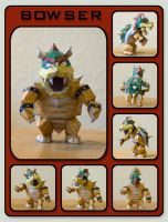 Bowser Paperart by bakkeby