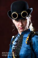 Steampunk Beauty by bryanhumphrey