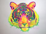 Neon Tiger by nicostars