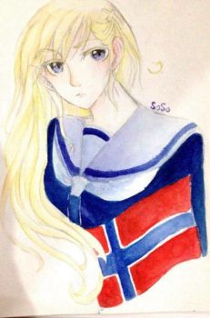 [Nyotalia] Norway by SophieLee2000