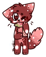 | Rose Cat Scarf Auction | by snickIett