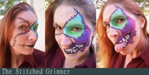 The Stitched Grinner by Warshield22